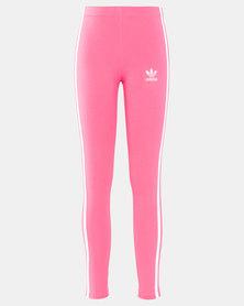 adidas Originals Girls Leggings Pink