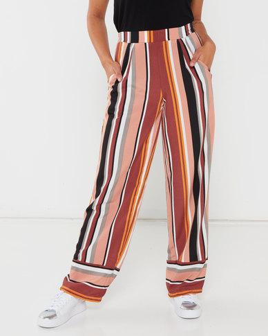 Utopia Stripe Wide Leg Pants Desert