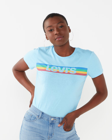Levi's ® Perfect Graphic Tee Blue