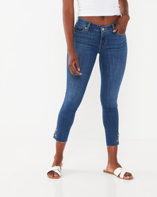 Levi's ® 711 Ankle Skinny Jeans Blue
