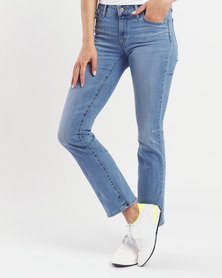 Levi's ® 715 Oahu Lights Bootcut Jeans Blue