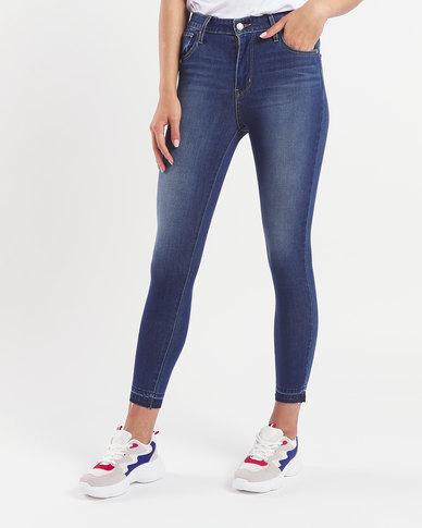 Levi's ® 721 House Wins Hi Rise Skinny Ankle Jeans Blue