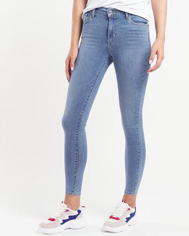 Levi's ® 720 Start From Scratch Hi Rise Super Skinny Jeans Blue