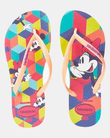 Havaianas Kids Slim Disney Cool Multi