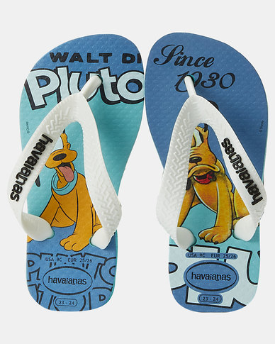 Havaianas Kids Disney Stylish Pluto Sandals Blue
