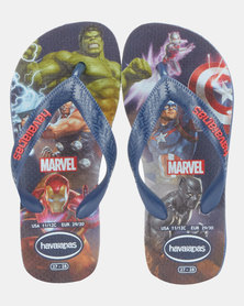 Havaianas Kids Top Marvel Avengers Sandals Blue