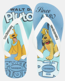 Havaianas Kids Disney Stylish Pluto Sandals Blue