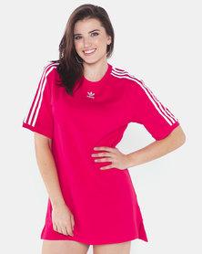 adidas Originals Tee Dress Pink