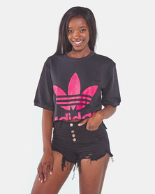 adidas Originals Cropped Tee Black