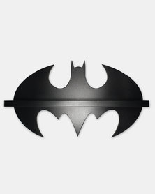 Tonewood Crafters Batman Medium Wall Shelf Black