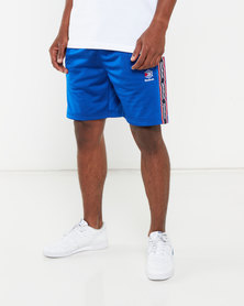 Reebok Mens Cl Taped Shorts Blue
