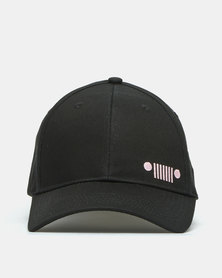 Jeep Basic Peak Cap Black