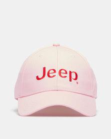 Jeep Basic Peak Cap Dusty Pink