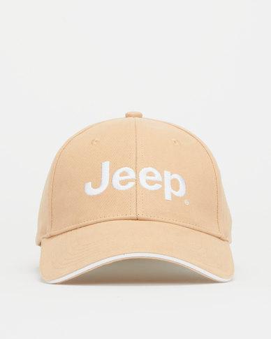 Jeep Basic Peak Cap Khaki