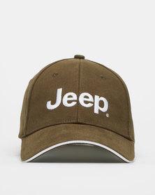Jeep Basic Peak Cap Olive