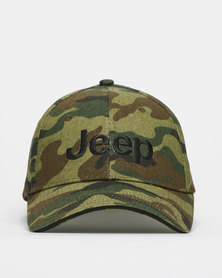 Jeep Basic Peak Cap Camo