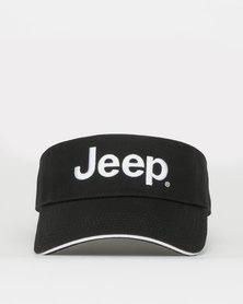 Jeep Visor Black/White