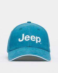 Jeep Basic Peak Cap Blue