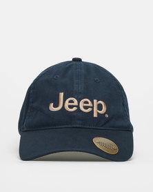 Jeep Bottle Opener Cap Navy