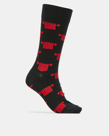 Jeep Grill Formal Socks Black