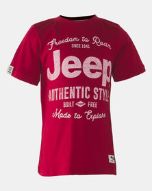 Jeep Crew Tee Red