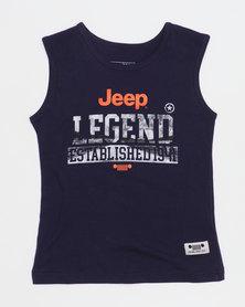 Jeep Vest Navy