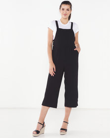 Brave Soul Wide Leg Jumpsuit Black