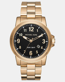 Michael Kors Paxton SS Watch Gold-plated