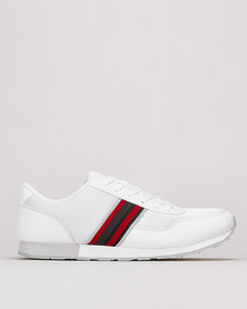 Brave Soul Contrast Sneakers White