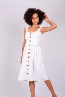RusTiq Brianna Dress White