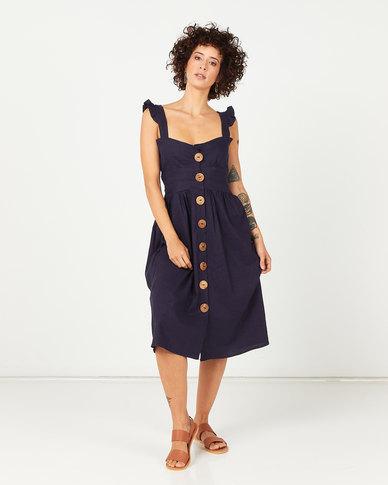 RusTiq Brianna Dress Navy