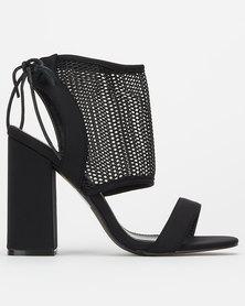 Public Desire Bodice Heels Black