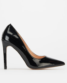 Public Desire Sleek Heels Black