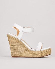 Public Desire Daiquiri Heels White