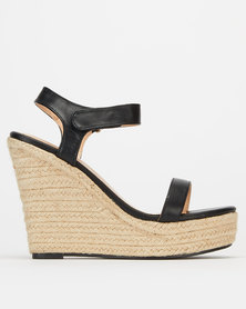 Public Desire Daiquiri Heels Black