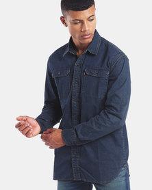 Levi's ® Standard Classic Worker Shirt Blue