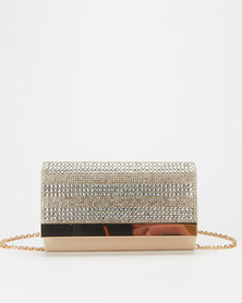 Call It Spring Edalenna Clutch Gold