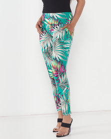Slick Jungle Roxanne Classic Pants Green