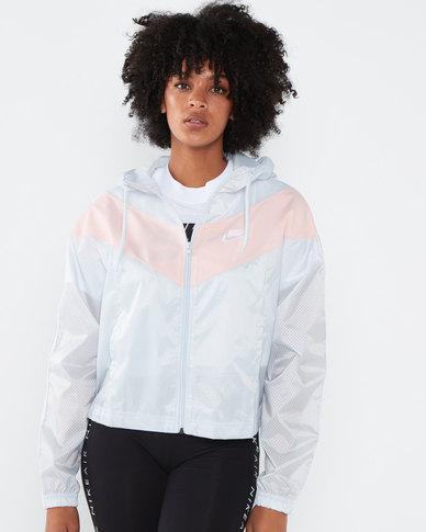 Nike W NSW Heritage Windbreaker Jacket Pink