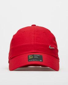 Nike U NK H86 Cap Metal Swoosh Red