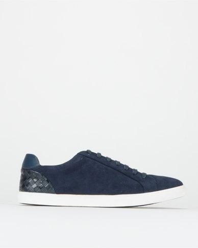 JCrew Suede Sneakers Navy