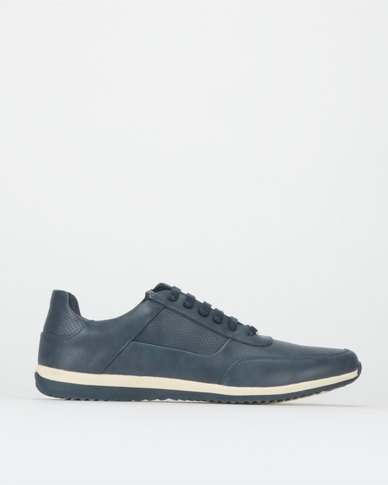 JCrew Punched Sneakers Navy
