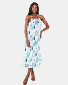 Crave Savanah Mia Dress Blue