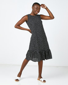 Barbara McKenzie Polka Dot Midi Dress