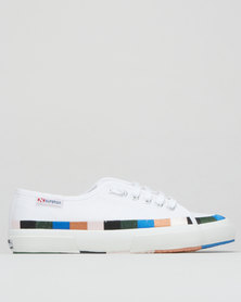 Superga Embroidered Canvas 901 Sneakers White