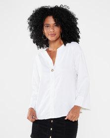 Utopia Linen Tunic White