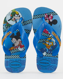 Havaianas Kids Mickey Mouse Club House Sandals Blue