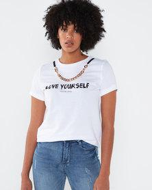 Sissy Boy Money Honey T-Shirt  White