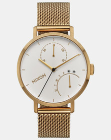 Nixon Clutch Watch All Gold / White