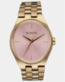 Nixon Kensington Watch Light Gold / Pink
